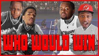 WHO WOULD WIN? MALONE & STOCKTON OR CP3 & BLAKE!! - NBA 2K17 Head to Head Blacktop Gameplay