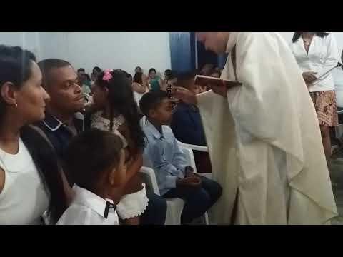 Santa missa em Boa vista do bananal município de cristália mg!(13)