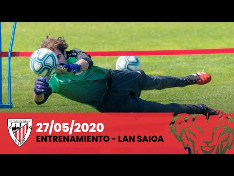 Entrenamiento Athletic Club (27-05-2020)