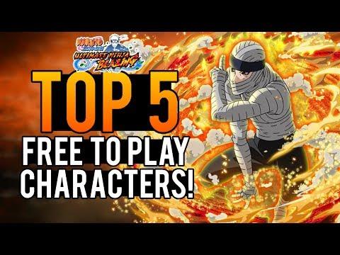Download Top 5 F2p Characters Naruto Shippuden Ultimate Ninja Blazi