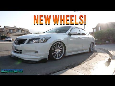 Buying New Wheels for the Bagged Honda Accord! - Pearl Panda