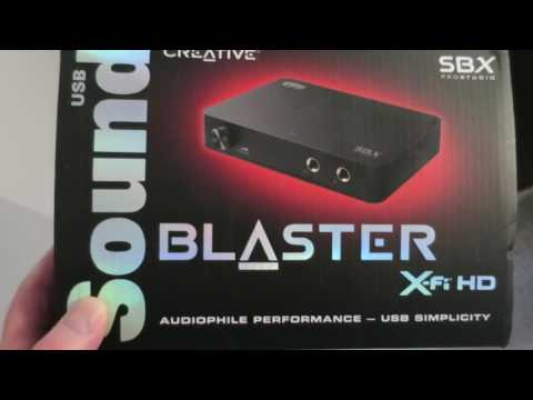 Sound Blaster X-Fi HD External Sound Card Review