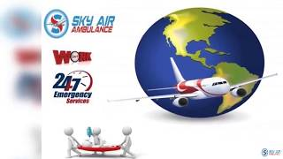 Hi-class Medical Assistance in Sky Air Ambulance from Bhubaneswar