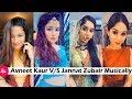 Jannat Zubair V S Avneet Kaur Musically on Same Songs