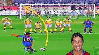 🔴Golaços Winning Eleven (PS1) 2016 HD