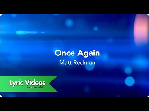 Once Again - Youtube Lyric Video