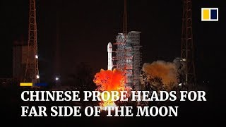 CNSA Launches CHANG'E 4 Rocket with Moon Rover