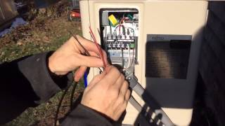 Heat pump installation How to do the electrical in 5 easy steps