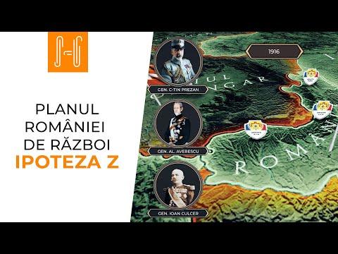 Planul Romaniei de razboi: Ipoteza Z
