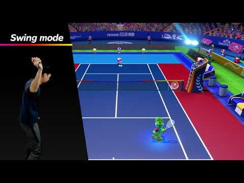 Mario Tennis Aces Nintendo Key Nintendo Switch NORTH AMERICA - 2