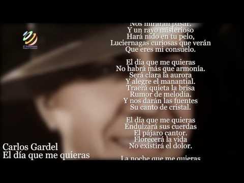 Carlos Gardel - El día que me quieras (Letra-Lyrics) [HQ]