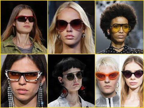 2018 Latest Spring\Summer Sunglasses Trends