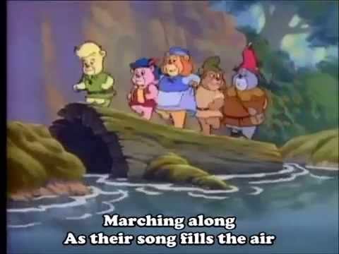 Disney's Adventures of the Gummi Bears Theme Song (With lyrics)