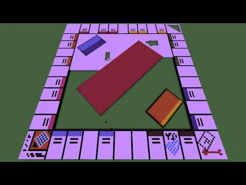 Monopoly Board TIMELAPSE + Download!