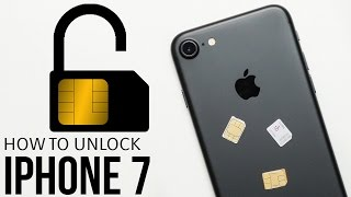 How To Unlock iPhone 7 (Plus) - SIM Unlock