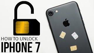 How To Unlock iPhone 7 (Plus) - SIM Unlock