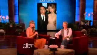 Taylor Swift Ellen Interview (Does the Name ring a Bell?)