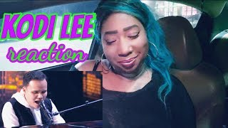 Kodi Lee Reaction - A Song For You [America's Got Talent] - heavily cut