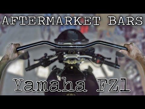 Changing Handlebars, Yamaha FZ1