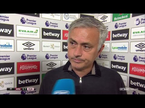 Mourinho makes open dig at Manchester United recruitment after defeat to West Ham