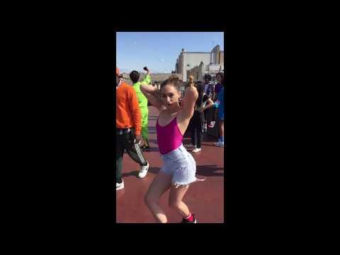 Impro danse sur les toits de Paris - tournage