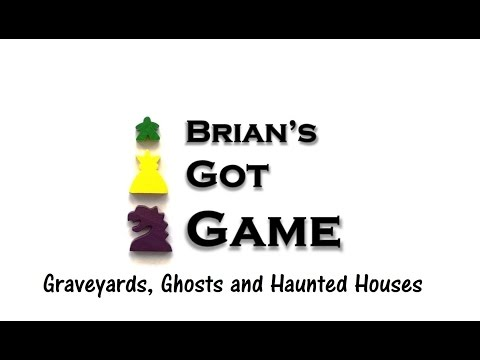Brian's Got Game - Graveyards, Ghosts and Haunted Houses Review