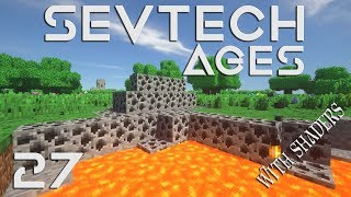 SevTech Ages | Episode 7 | Big Pointy Bushes of Doom? | Dataless822