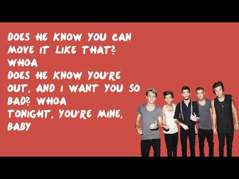 Does He Know? - One Direction (Lyrics)