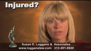 Susan E. Loggans & Associates Auto Accident video