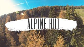 Nazgul5 flying around my alpine hut with my FPV quad