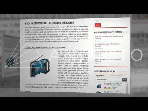 Baustellenradio kaufen - Tests, Vergleiche und Empfehlungen