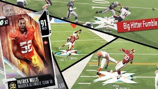 92 OVR Patrick Willis Is A GOON! Makes Plays All Over The Field! (Madden 20 Ultimate Team)