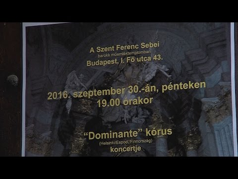 Dominante kórus koncertje - video preview image