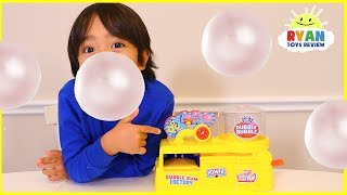 Make your own real working bubble gum with Ryan ToysReview