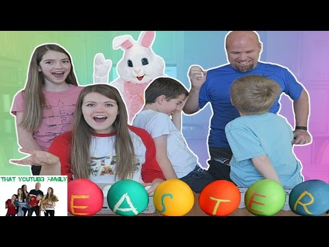 Easter 2017 Egg Hunt, Decrorating and Basket Haul  / That YouTub3 Family