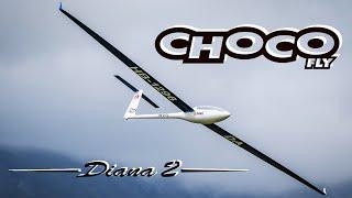 Epic Crash Landing - Chocofly Diana 2 - Hahnenmoos 2020