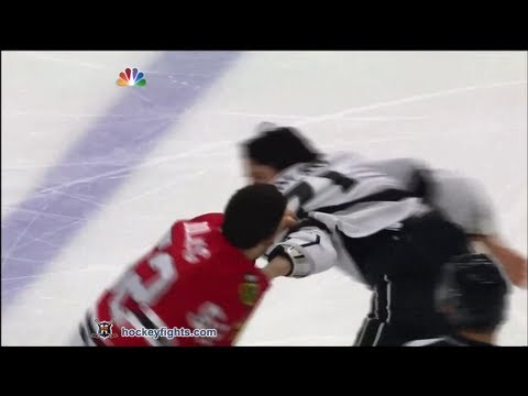 Brandon Bollig vs. Jordan Nolan
