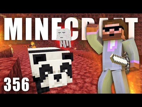 PANDA V NETHERU!!!  | Minecraft Let's Play #356