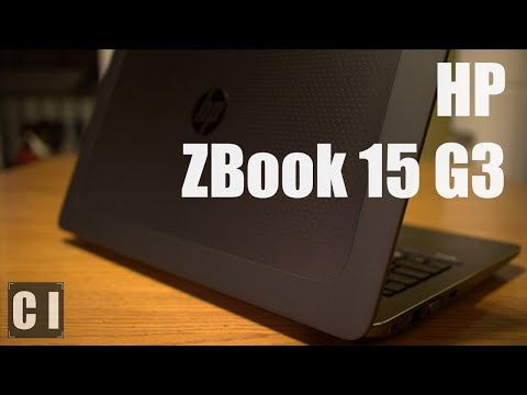 HP ZBook 15 G3 Mobile Workstation - Best Autocad Laptop of 2016?