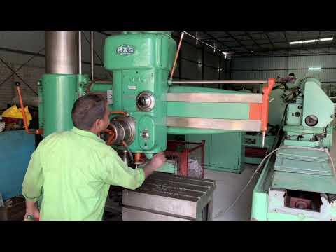 MAS VR4 Radial Drilling Machine