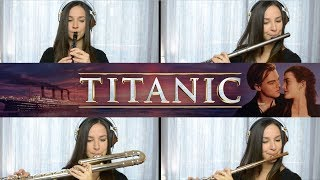 Titanic Theme Song - (My Heart Will Go On) on Flute + Sheet Music!
