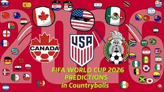 Countryballs Predictions: 2026 World Cup | North America