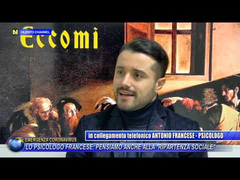 """Lo psicologo Francese: """"pensiamo anche alla ripartenza sociale"""""""