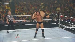 NXT Rookie David Otunga vs. NXT Wade Barrett