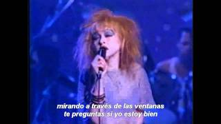 Cyndi Lauper - Time After Time (Subtítulos español)