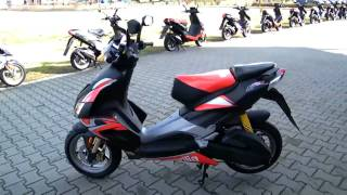 preview picture of video 'Aprilia SR 50 R Factory 2010 Roller'