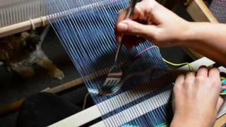 Tapestry Style Weaving On A Rigid Heddle Loom, Part 3