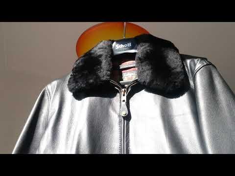 Schott FLT1 G1 Leather Jacket Lederjacke giacca pelle bomber