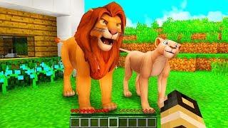 IL RE LEONE È ARRIVATO A CASA NOSTRA! - Casa di Minecraft #45