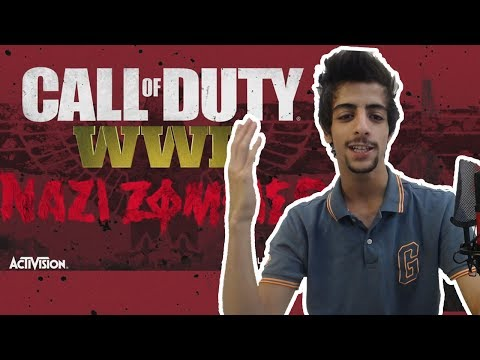 كود14 : عرض الزومبي الرسمي مترجم !! Official Call of Duty®: WWII Nazi Zombies Trailer